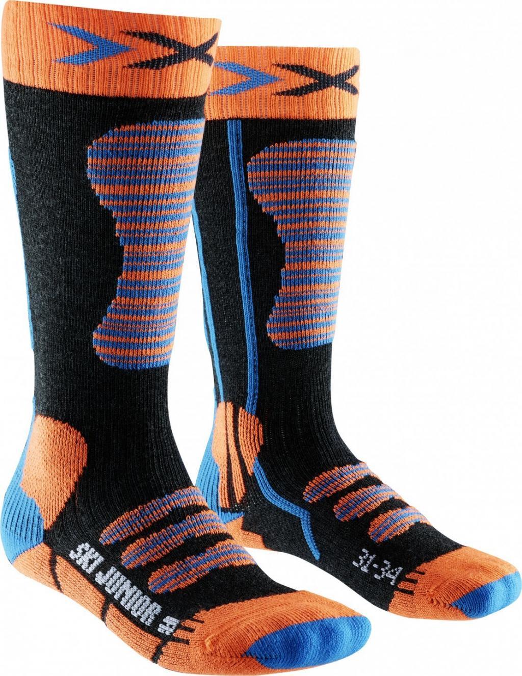 X-Socks Skisocken SKI JUNIOR blau/orange