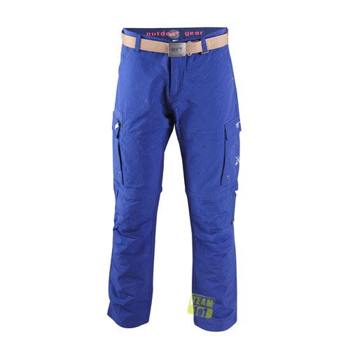 2117 of Sweden Arnäs Herren Zip-off Hose 7826918-040 blau