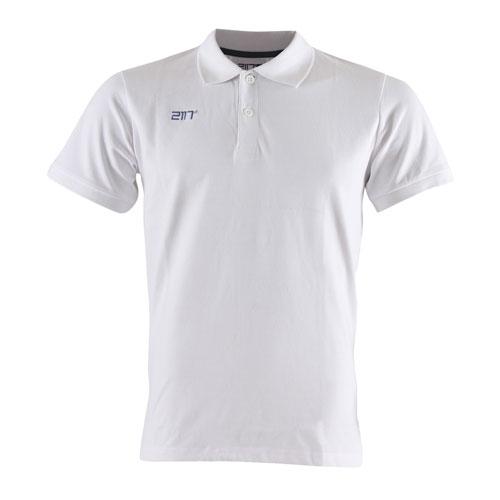 2117 of Sweden Laxsjö Herren kurzarm Pique Poloshirt 7857910-020 white