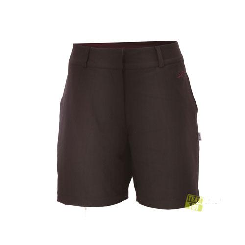2117 of Sweden Damen Wanderhose Shorts Trekking Sport Bermuda Allerum schwarz