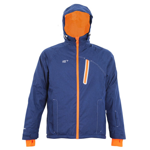 2117 of Sweden Herren Skijacke Winterjacke Amot 7515924-279 blau/orange