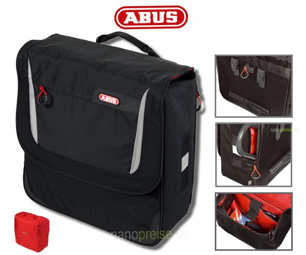 abus gep cktr gertasche fahrradtasche st 500 kf onyx klickfix. Black Bedroom Furniture Sets. Home Design Ideas