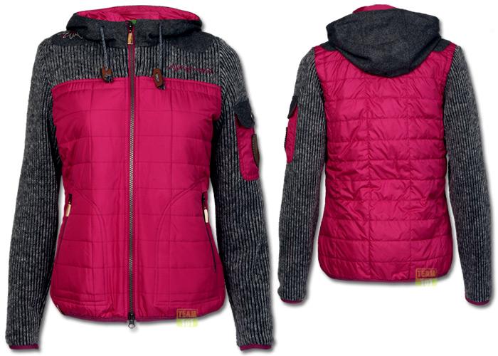 almgwand damen skijacke winterjacke windbreaker hehenberg lila grau ebay. Black Bedroom Furniture Sets. Home Design Ideas