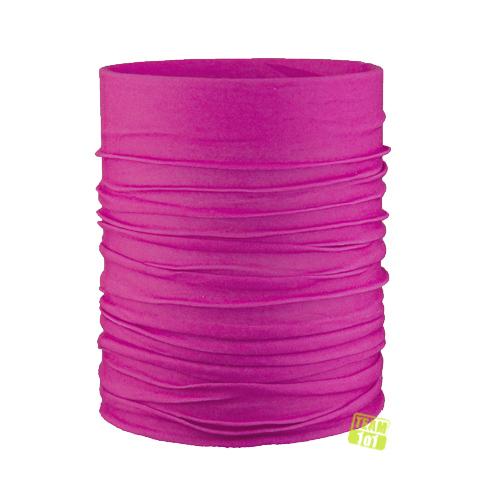 ARECO Unisex Multifunktionstuch Halstuch Schaltuch Basic pink