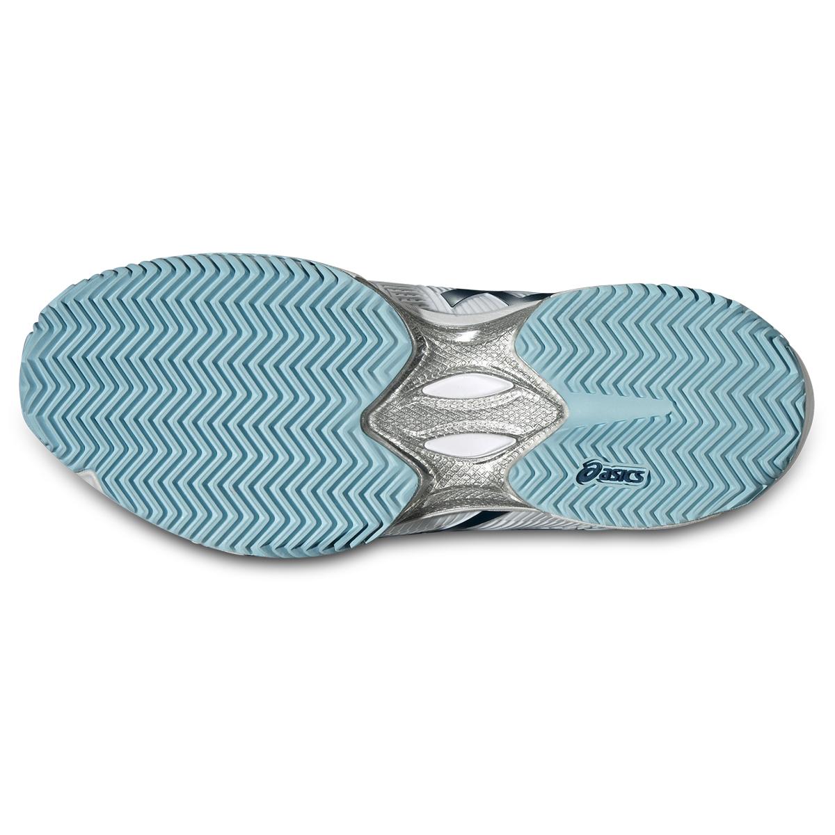 Asics Damen Tennisschuhe Gel Solution Speed 3 Clay türkisweiß