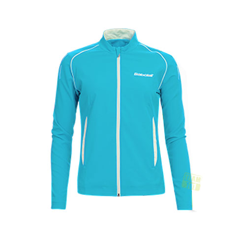 Babolat Damen Tennisjacke JACKET MATCH CORE türkis