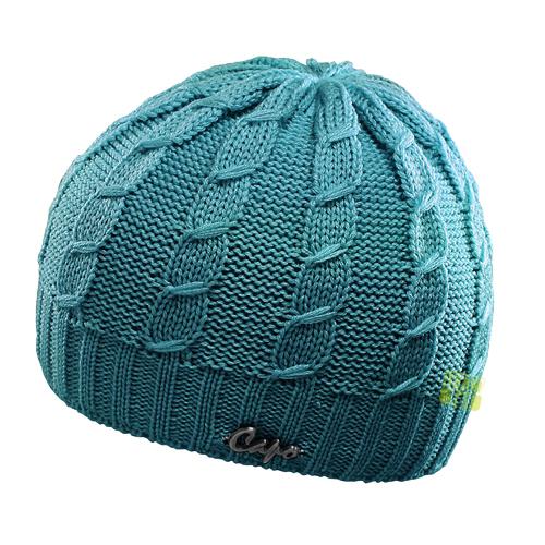 Capo Mütze Wintermütze Beanies 109-303 75 blau