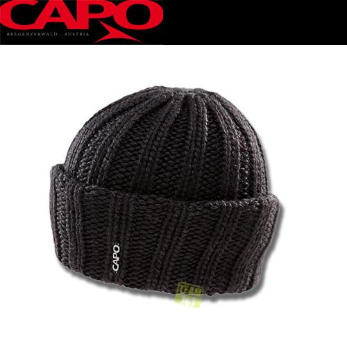 Capo Damen Wintermütze Skimütze Ski Mütze schwarz 122-607-20 schwarz