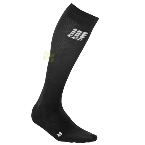 CEP Herren Kompressionssocken Laufsocken Sportsocken pro+ run socks 2.0 schwarz