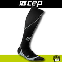 CEP Kompressionssocken running progressive compression socks schwarz men & women