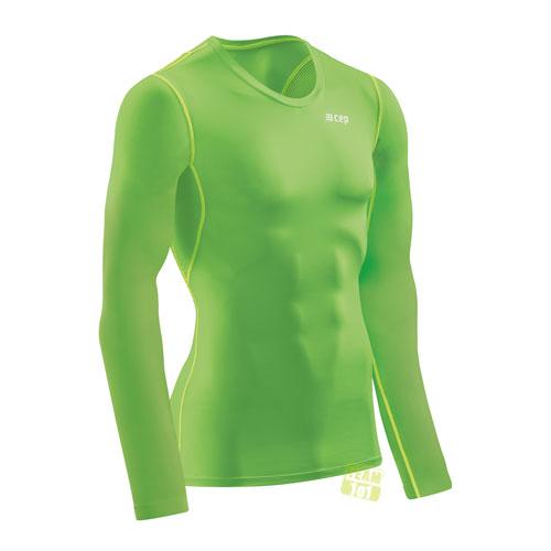CEP Herren Wingtech Shirt Langarmshirt Longsleeve grün