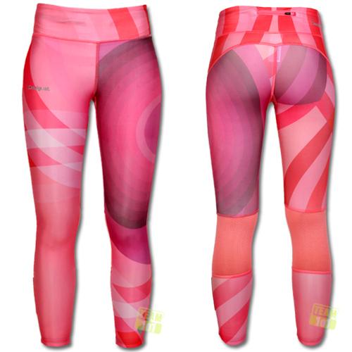 Desigual Damen Leggings Sport Fun PONJA pink