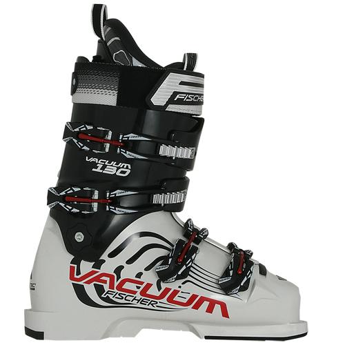 Fischer Unisex Skischuhe Skistiefel Soma Vacuum Flex 130 schwarz/weiß