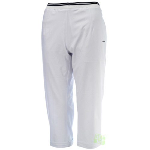 Head Damen Tennishose 3/4 Sutton Capri weiß