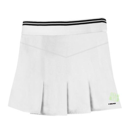 Head Damen Tennisrock mit Innenhose Billie Skort weiß
