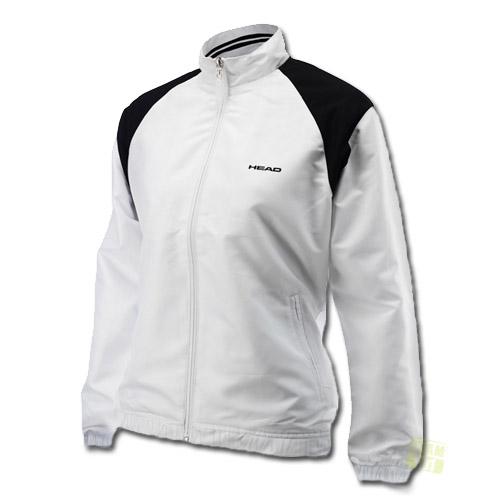 Head Damen Tennisjacke Cooper All Season Jacket weiß / schwarz