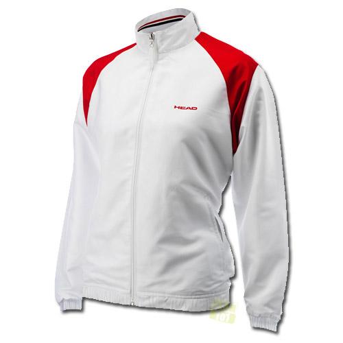Head Damen Tennisjacke Cooper All Season Jacket weiß / rot