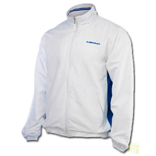 Head Herren Tennisjacke Hartley All Season Jacket weiß / blau