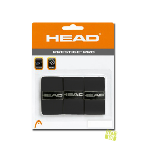 Head Griffband Prestige Pro Overgrip schwarz
