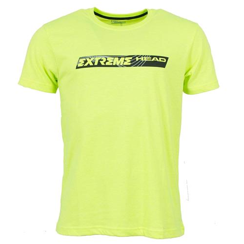 Head Xtreme Men T-Shirt Herren kurzarm Sportshirt 811495-YR gelb