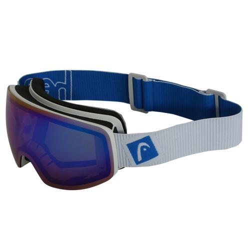 Head Unisex Skibrille Snowboard Schneebrille Allride Galactic FS FMR weiß/blau