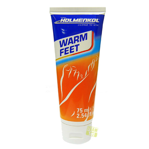 Holmenkol Fußcreme Fußpflege Warm Feet 75ml Art. Nr.: 22171