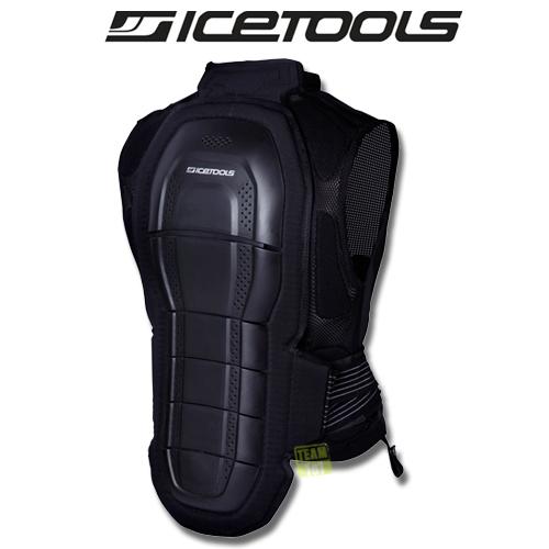 Icetools Rückenprotektor Protektorenweste SPINE JACKET LTD schwarz