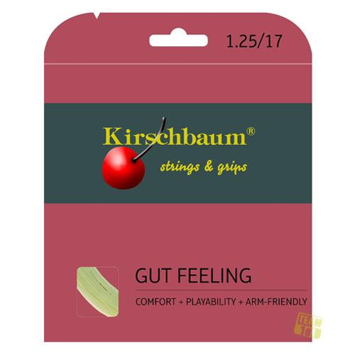 Kirschbaum Tennissaite GUT FEELING natur 12m