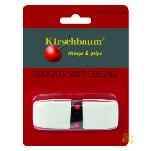 Kirschbaum Griffband TOUCH IT Soft Feeling Basisband weiß 1,9mm 1er Pack