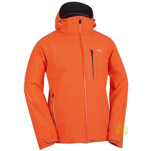 kjus herren skijacke formula jacket orange. Black Bedroom Furniture Sets. Home Design Ideas