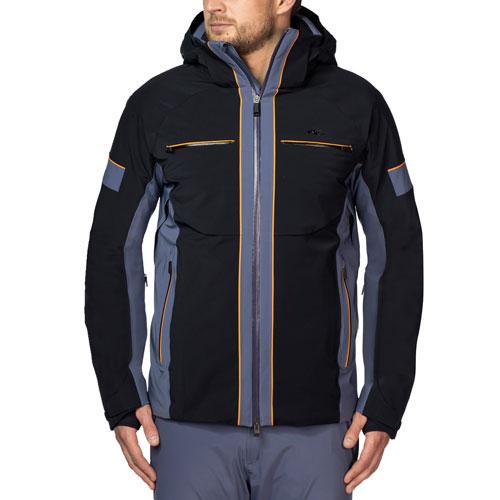kjus herren skijacke men downforce jacket ms15 a06 schwarz. Black Bedroom Furniture Sets. Home Design Ideas