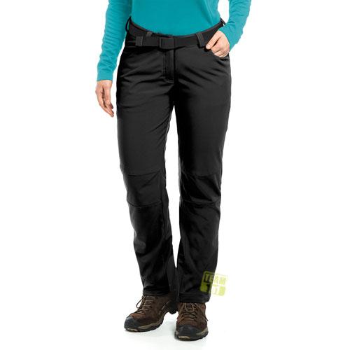 Maier Sports Damen Softshellhose Tech Pants W schwarz
