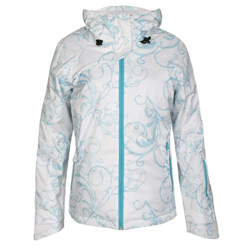Maier Sports Damen Skijacke 5100076 mTEX weiss blau