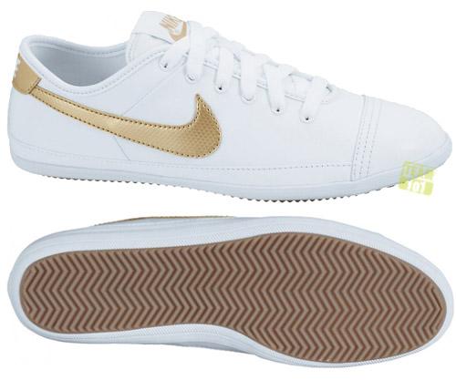 Nike Damen Weiß Gold