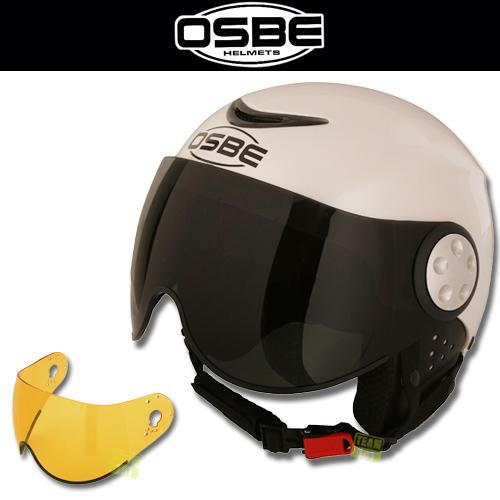 Osbe Skihelm Snowboardhelm Ski Helm Force 2 Weiss Pearl Ebay