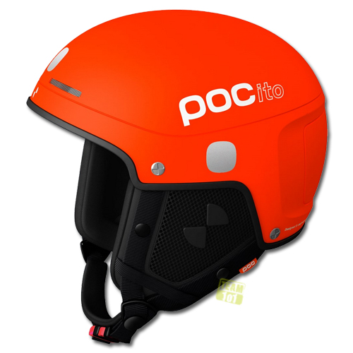 POC Kinder Skihelm Snowboardhelm POCito Skull Light orange