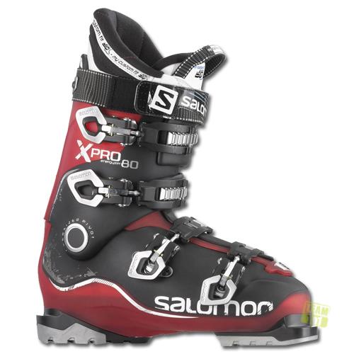 Salomon Herren Skischuh Skischuhe X Pro 80 rot schwarz