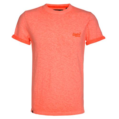 Superdry Herren T-Shirt ORANGE LABEL LOW ROLLER orange