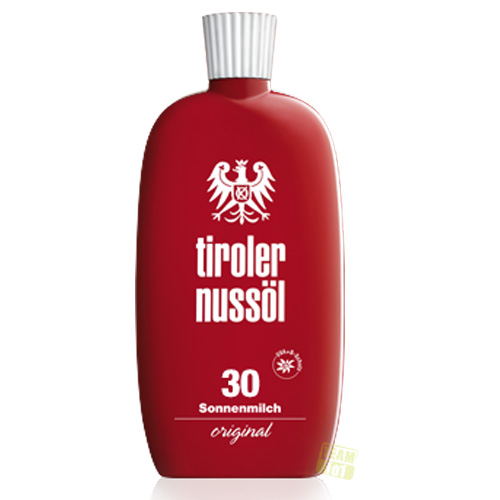Tiroler Nussöl Sonnenmilch original Lichtschutzfaktor 30 150 ml