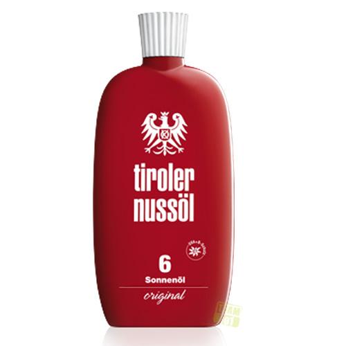 Tiroler Nussöl Sonnenöl original Lichtschutzfaktor 6 150 ml