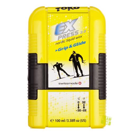 Toko Flüssigwachs Grip & Glide Pocket Universal-Flüssigwax 100ml