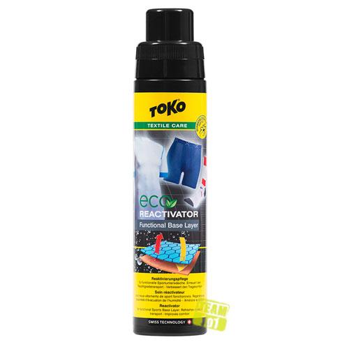 TOKO Textilpflegemittel Sportswear Care Eco Functional Reactivator 5582612 250ml