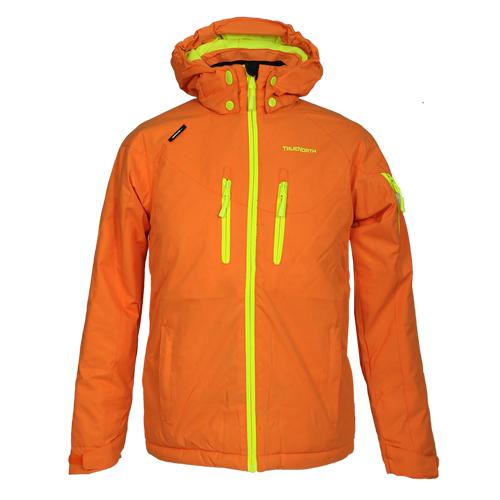 TrueNorth Jungen 7516415-071 Skijacke Kapuze Rainbow Jacket hood orange
