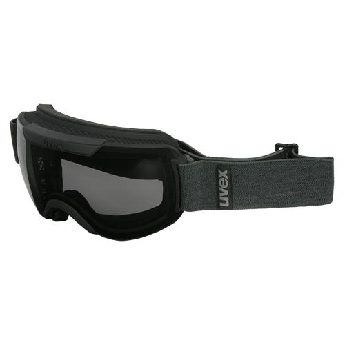 Uvex Skibrille Downhill 2000P Google polarisierend sphärisches Glas schwarz matt