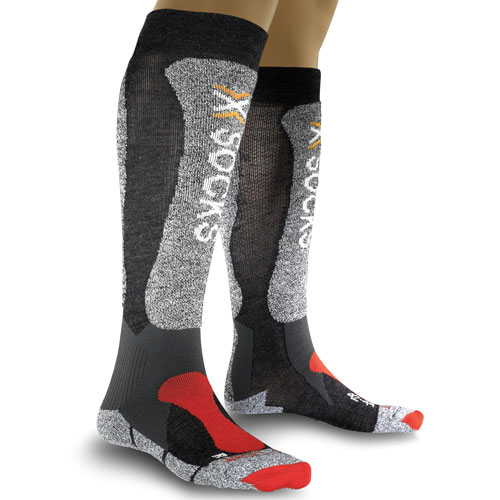 X-Socks Skisocken Skistrümpfe Thermosocken Wintersocken SKIING Light anthracite