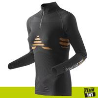 X-Bionic Damen Skiunterwäsche Funktionsshirt Thermo Unterhemd Energizer schwarz