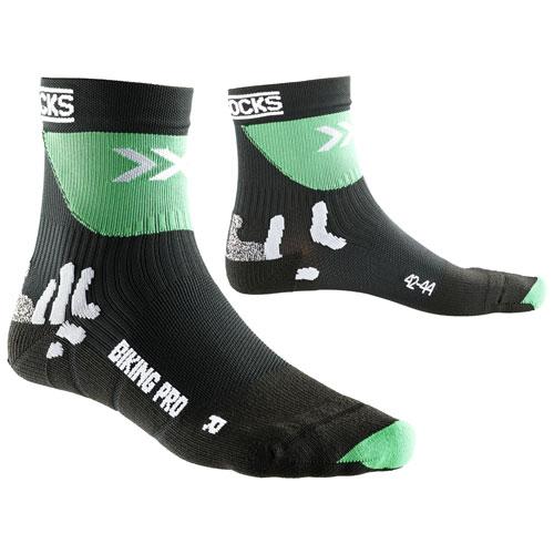 X-Socks Socken Biking Pro schwarz/grün