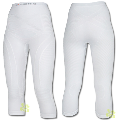 X-Bionic Damen Skiunterwäsche Skiunterhose energy accumulator pants weiß