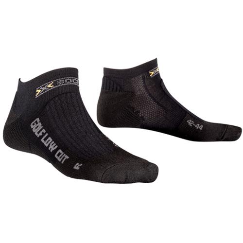 X-Socks Golfsocken Sportsocken Funktionssocken Low Cut X0T0126 B000 schwarz