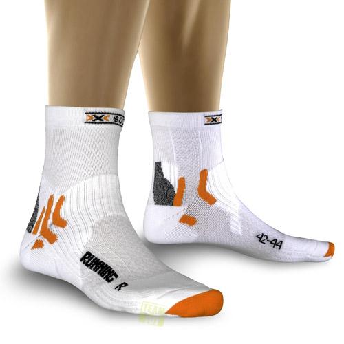 X-Socks Laufsocken Running Short weiß